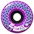 KROOKED ZIP ZINGERS PURPLE WHEELS 54MM 80D (Set of 4)