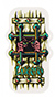 BLACK LABEL LUCERO OG BARS LG STICKER