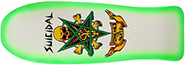 DOGTOWN X SUICIDAL TENDENCIES POSSESSED TO SKATE  GREEN FADE RE-ISSUE DECK 10.00