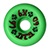DOGTOWN K-9 GREEN WHEELS 60MM 97A (Set of 4)