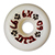 DOGTOWN K-9 WHITE WHEELS 60MM 97A (Set of 4)