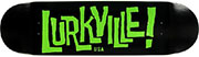 LURKVILLE LOGO BLACK/GREEN PP DECK 8.50