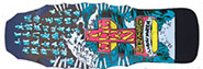 DOGTOWN AARON MURRAY BLACK RE-ISSUE DECK 10.5 X 30