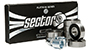 SECTOR 9 PLATINUM ABEC 9 BEARINGS WITH SPACERS