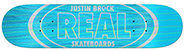 REAL BROCK HOLOGRAPHIC OVAL DECK 8.06