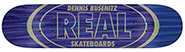 REAL BUSENITZ HOLOGRAPHIC OVAL DECK 8.50