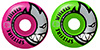 SPITFIRE BIGHEAD CLASSIC MASHUPS PINK/GREEN 52MM 99A (Set of 4)