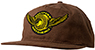 SPITFIRE X ANTI-HERO CLASSIC EAGLE BROWN SNAPBACK