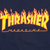THRASHER FLAME NAVY BLUE SS L