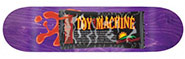 TOY MACHINE PROVOST EL SCORCHO DECK 9.00