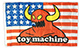 TOY MACHINE AMERICAN MONSTER FLAG